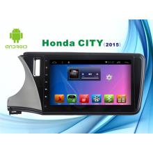 Système Android Navigation GPS voiture DVD pour Honda City Écran de capacité de 10.1 pouces avec WiFi / TV / Bluetooth