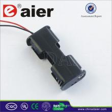 Soporte de batería Daier 3v back to back Soporte de batería 2 aa