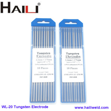 WL20 Lantanum Tungsten Needle Lantanated Tungsten