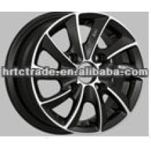 Preto novo moda rodas de 12 polegadas para carro