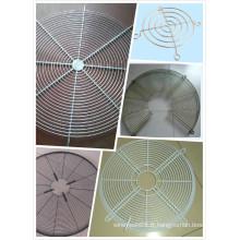 Couvertures de Gurad de gril de fan de fil métallique en métal pour le ventilateur industriel