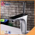 New products unique chrome single handle bathroom sink faucet