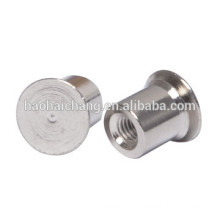 Customized Nickel Plating Y12 Steel Compression Nut