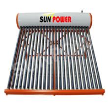 Chauffe-eau solaire non pressurisé en acier inoxydable (SPC)