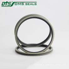 Bronze PTFE Stern Doppel O Kombination Kolbendichtung für Hydraulikzylinder Abdichtung DAQ2