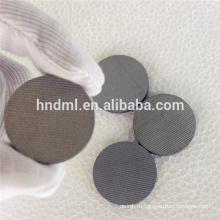 40 микрон Пять слоев спеченной тканой проволочной сетки