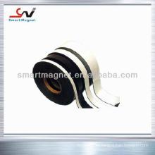 Puerta de ducha de caucho permanente flexible con banda magnética