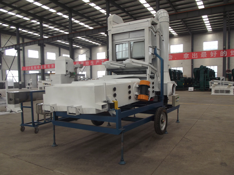 paddy seed cleaning machine