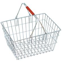 Meilleure vente carry métal panier commerçante fil panier panier de magasinage