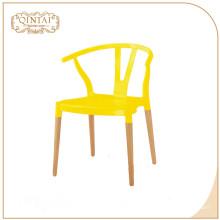 Barato al aire libre jardín interior todo color disponible comedor pp polipropileno silla plástica