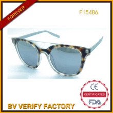 Trade Assurance Latest New Plastic Sunglass in Summer (F15486)