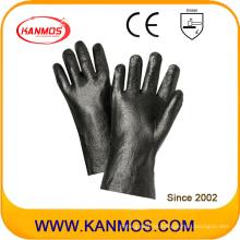 Guantes de trabajo de seguridad industrial antideslizantes de PVC (51208R)