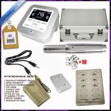 Tattoo Digital Control Panel dauerhafte Make-up-Maschine Kits für Augenbraue und Lippe gesetzt