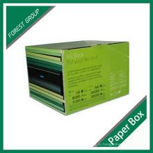 Печатная коробка для логотипа с гофрированной упаковкой (FP7008)
