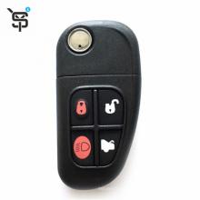 High quality OEM 4button car key shell for Jaguar car keys button for smart replaceable remote car key