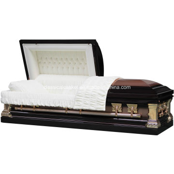 Jeff Bronze inox escovado caixão