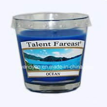 Heißer Verkauf Soja-Ozean-Duftkerze im Glas