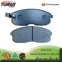 brake pad for NISSAN MAXIMA II 1988-1995
