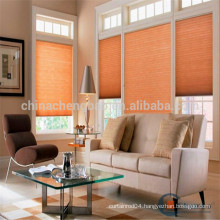 European style semi blackout honeycomb window blind