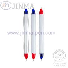 Die Förderung Geschenke Kunststoff zwei Enden Kugelschreiber Jm-1014
