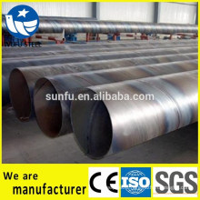 Welded carbon SSAW spiral Q345 steel pipe price