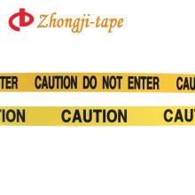barricade safety warning tape