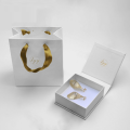 Custom logo jewelry box for earrings