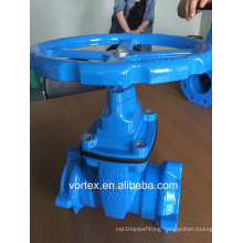 Ductile Iron Double Socket Gate Valve