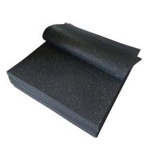 500mm x 500mm Gym Rubber Flooring / EPDM Rubber Matting Roll