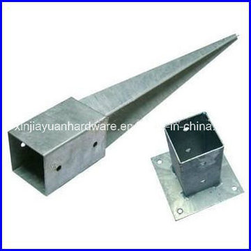 L'ancre de poteau en acier inoxydable à meilleur prix pour attacher le poteau