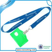 Llavero de la tarjeta de identificación de la aduana de la promoción de la venta al por mayor de la fábrica