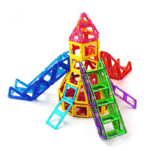Brinquedos magnéticos para blocos de crianças aprendendo e brinquedos educativos