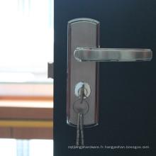 Sécurité de serrure de porte coulissante en acier inoxydable solide pour Hotal