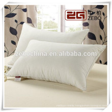 High Quality Cotton Cover Soft Customized Wholesale Feather Pillows