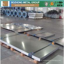 Nickel-Legierung Incoloy 800h Platte hergestellt in China