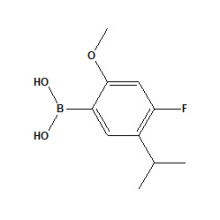 (4-фтор-5-изопропил-2-метоксифенил) борной кислоты № 875446-29-0