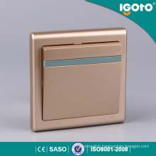 Igoto E9011-G 1 Gang Universal Types of Electrical Switches