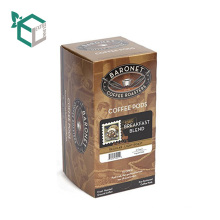 Biodegradable Coffee Packaging Nice Box Paper With Handle