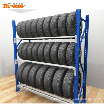 heavy duty tire storage rack display for 4s store