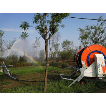 Machine mobile durable de sprays d'irrigation de bobine de tuyau