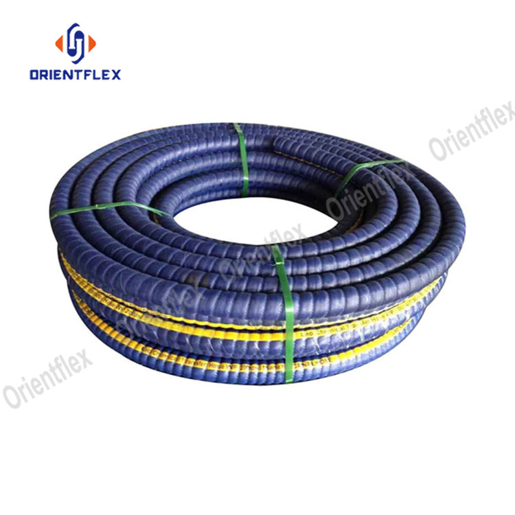 Corrugated Uhmwpe Chemical Hose 8