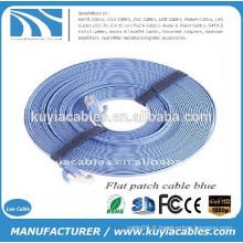 NOUVEAU PREMIUM Cat6 Male to Male RJ45 Ethernet Flat LAN Cable 15M