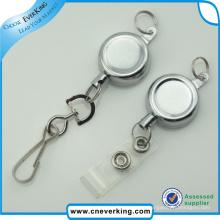 Ausgezeichnete Qualität Runde Form Kunststoff Abzeichen Reel mit PVC-Band