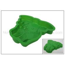 Ustensiles de cuisson au silicone en forme d'éléphant (RS07)
