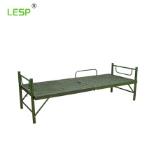 Two-fold  camping military bed
