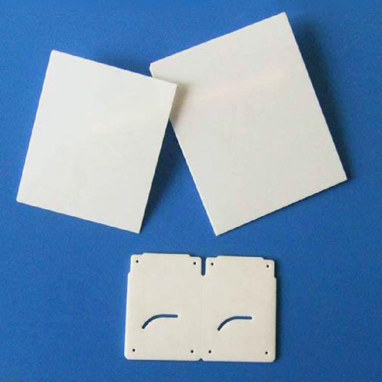 Laser cutting alumina ceramic plate