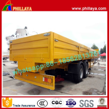 High Bed Side Wall Container Transport Semi Trailer