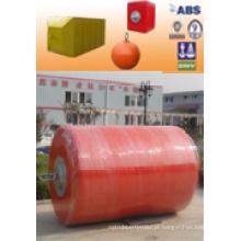 Alta Qualidade ISO Certificado PU Revestimento De Bóias De Espuma