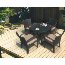 Garden Dining Set-Outdoor Wicker Furniture