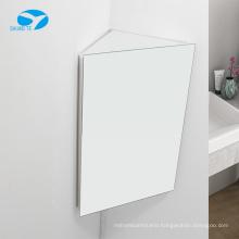 Low price mirror Stainless steel bathroom mirror cabinet corner kitchen triangle locker